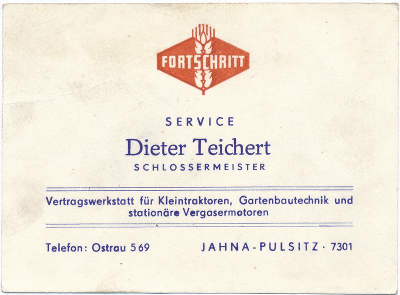 Geschichte Teichert